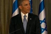 Obama treated like a 'rock star' in Israel