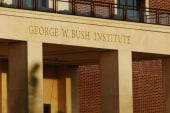 Dedication of George W. Bush Library opens...