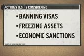 US considers action against Russia on Ukraine