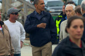 Obama returns to the Jersey Shore to tour...