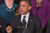 Obama working to avoid second-term curse
