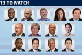 13 politicians to watch in 2013