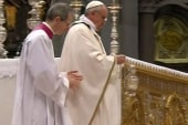 Pope Francis breaks from tradition