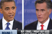 Pundits, pollsters give Romney round one