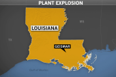 Explosion and fire at plant in Geismar, La.