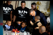 Obama reaches out to young male minorities