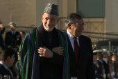 Afghanistan's President Karzai visits...