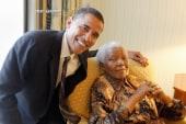 Mandela's impact on President Obama