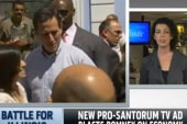 Santorum clarifies remarks about English...