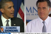 Economic showdown in the battleground...
