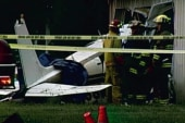 Teen survives second plane crash