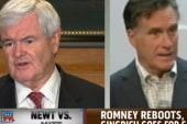 Romney reboots, Gingrich goes for cash