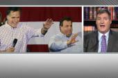 Chris Christie, Mitt Romney together again