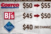 Warehouse club fees set to rise