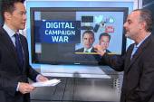 Obama leads Romney in digital campaign war