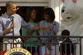 The Obamas kick off Easter Egg Roll