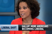 Gallup poll shows Americans moving to the...