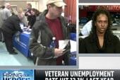 Finding jobs for veterans