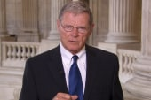 Inhofe: Getting relief funds for Oklahoma...