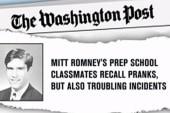 Romney addresses alleged high school 'prank'