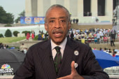 Rev. Sharpton: 'We've not realized all of...