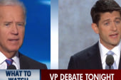 Biden, Ryan prepare for debate