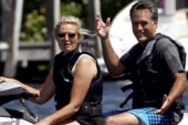 Is Romney mixing business with pleasure on...