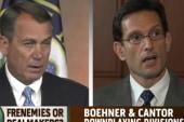 Boehner, Cantor tension in deficit talks?