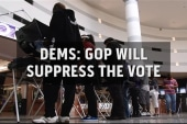 Dems putting pressure on GOP for voting...