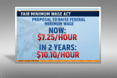 Growing support for minimum wage hike