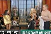 Regis strips down for 'Snooki'