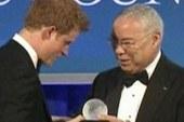 Prince Harry receives Humanitarian Award