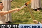 Olympic torch officially begins its journey