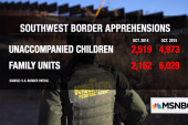 Spike in migrants crossing Mexican border