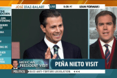 Protests scheduled for Peña Nieto's DC trip