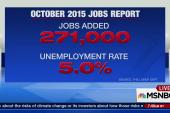 U.S. economy adds 271,000 jobs in October