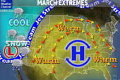Cold weekend in store for West