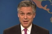 Huntsman campaigns for laughs on SNL