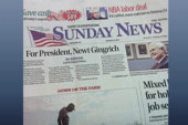 N.H. newspaper endorses Gingrich
