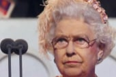 Queen appears in Olympics skit