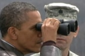 Obama tours Korean DMZ