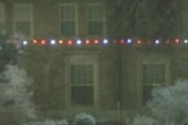 Rare white Christmas in Texas