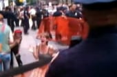 NYPD officer talks pepper spray incident