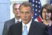 Boehner pulls shutdown bill