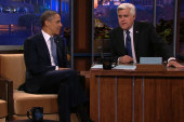 President Obama visits 'The Tonight Show'