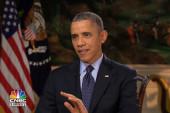 President Obama will not negotiate