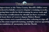 Tulsa World News: Supervisors falsified docs