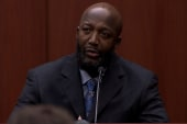 Trayvon Martin's father takes the stand