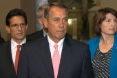 Boehner: We will resolve this in conference
