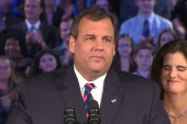Reactions to Christie's acceptance speech